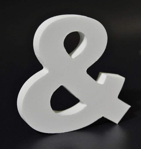 Letras Decorativas Rectas PVC | &