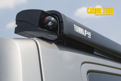 Toldo Fiamma F40 Van 270cm. Deep Black - Royal Grey