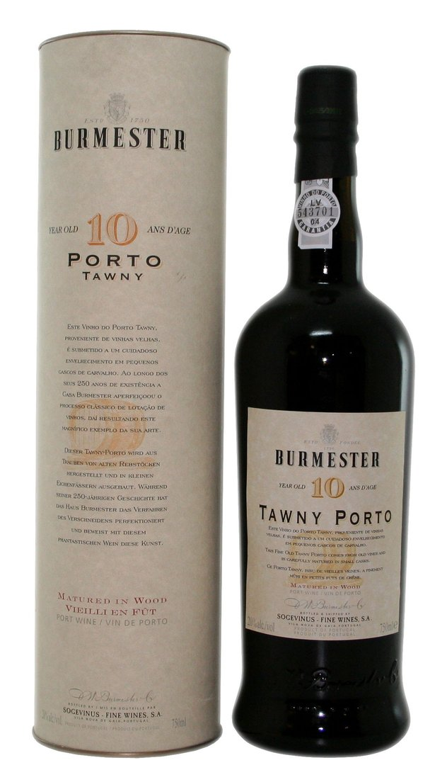 Burmester - 10 Years Old Tawny Port, 0,75l