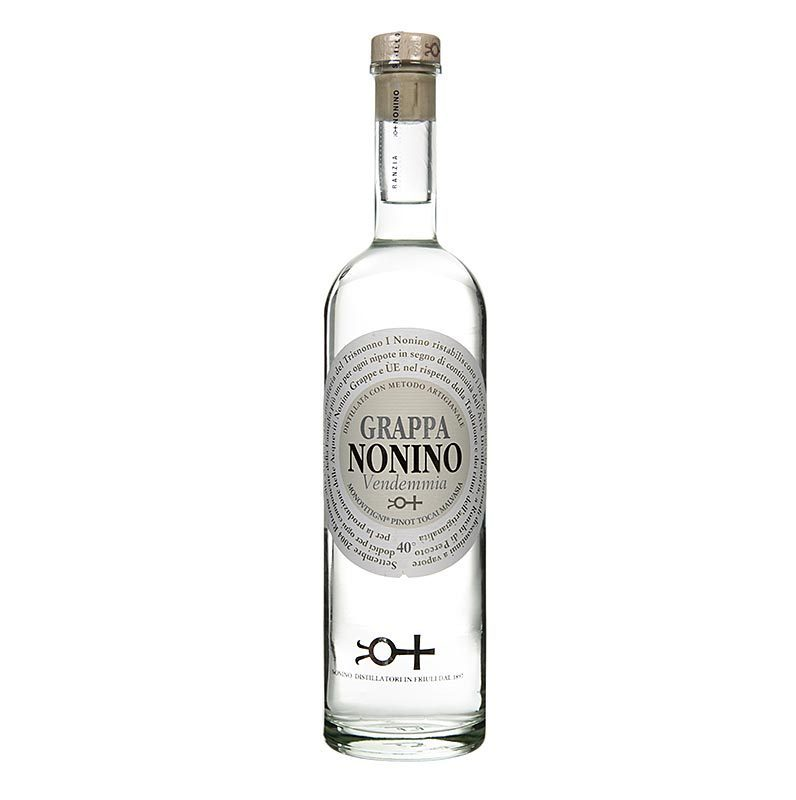 Grappa Vendemmia Millesimata, traditioneller Grappa, 40% vol., Nonino, 700 ml