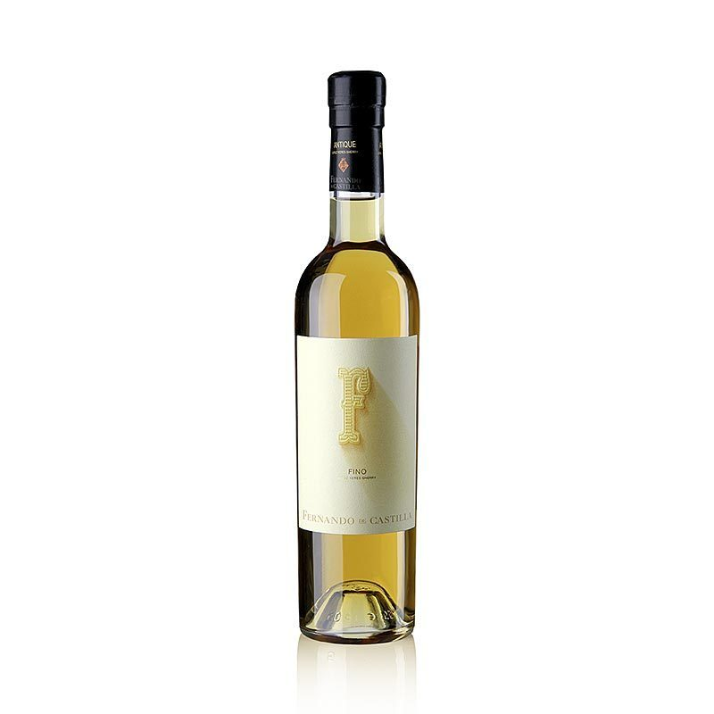 Sherry Antique Fino, dry, 17% vol., Rey Fernando de Castilla, 500 ml