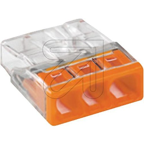 WAGO Compact-Steckkl.orange 3x2,5 2273-203 - EAN 4050821027850