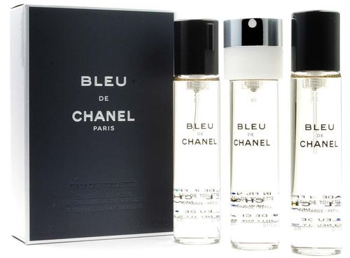 Chanel Bleu de Chanel 3x 20 ml. Twist & Spray