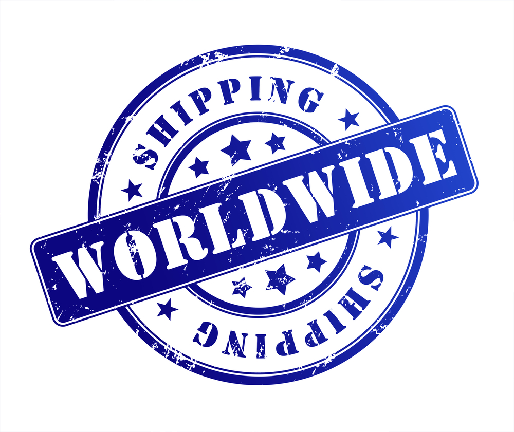 worldwide shipping logo