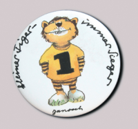 Janosch-Button Kleiner Tiger