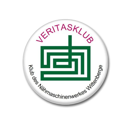 "Button ""Veritasklub"""