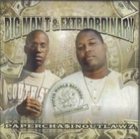 "BIG MAN T & EXTRAORDINARY ""PAPERCHA$INOUTLAWZ"" (USED CD)"