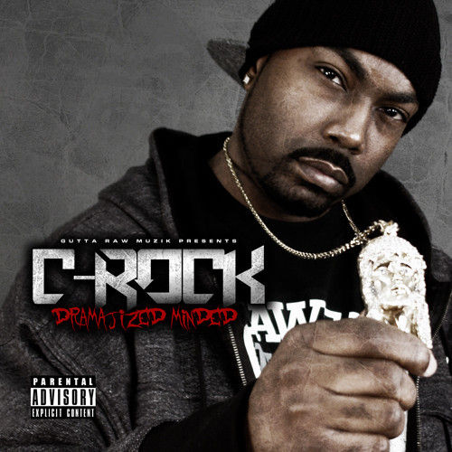"C-ROCK (OF MANSON FAMILY) ""DRAMATIZED MINDED"" (NEW CD)"
