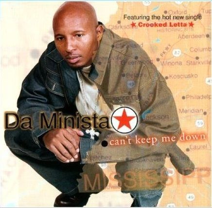 "DA MINISTA ""CAN'T KEEP ME DOWN"" (CD)"