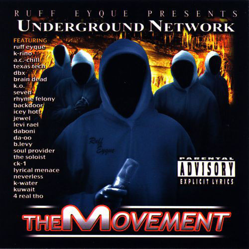 "RUFF EYQUE (SPC) ""UNDERGROUND NETWORK"" (USED CD)"