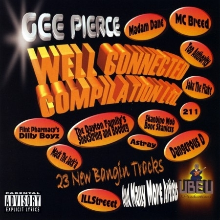 "GEE PIERCE ""WELL CONNECTED COMPILATION"" (CD)"