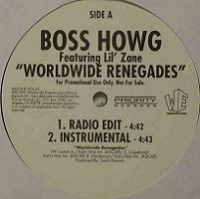 "BOSS HOWG ""WORLDWIDE RENEGADES"" (12INCH)"
