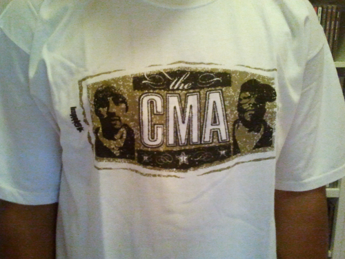 "THE GROUCH & LUCKYIAM ""THE CMA"" (SHIRT)"