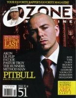"OZONE MAGAZINE ""NOVEMBER 2006: PITBULL COVER"" (MAG)"