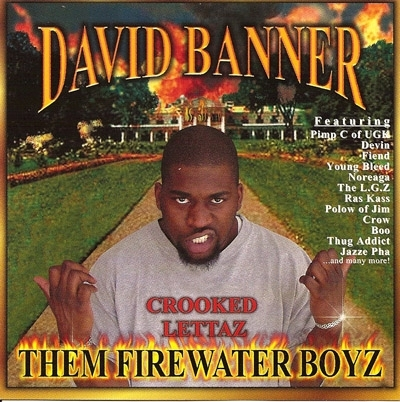 "DAVID BANNER ""THEM FIREWATER BOYZ"" (CD)"
