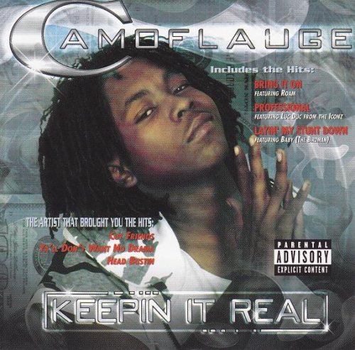 "CAMOFLAUGE ""KEEPIN IT REAL"" (USED CD)"