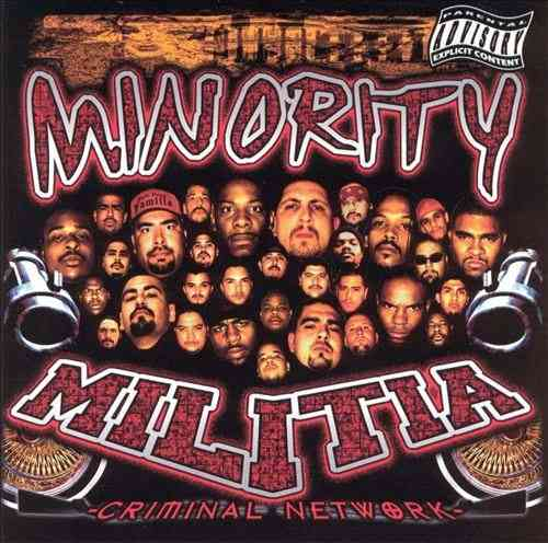 "MINORITY MILITIA ""CRIMINAL NETWORK"" (USED CD)"