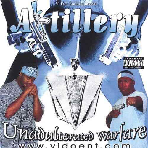 "ARTILLERY ""UNADULTERATED WARFARE"" (USED CD)"