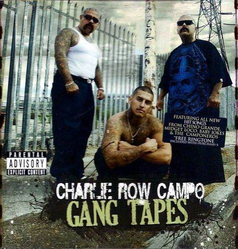 "CHARLIE ROW CAMPO ""GANG TAPES"" (USED CD)"