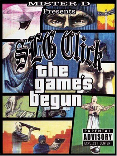 "MISTER D PRESENTS SLG CLICK ""THE GAME'S BEGUN"" (USED DVD)"