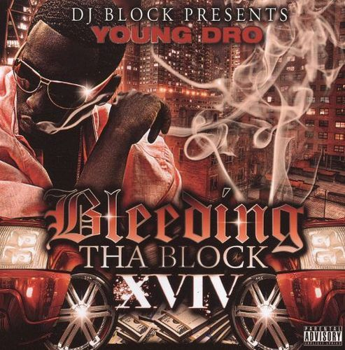 "YOUNG DRO ""BLEEDING THA BLOCK XVIV"" (USED CD)"