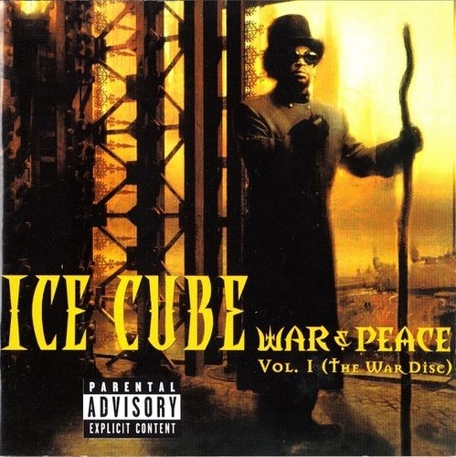 "ICE CUBE ""WAR & PEACE VOL. 1"" (USED CD)"