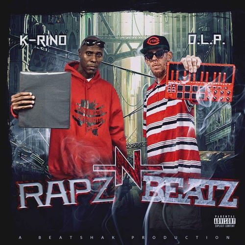 "K-RINO & D.L.P. ""RAPZ-N-BEATZ"" (NEW CD)"