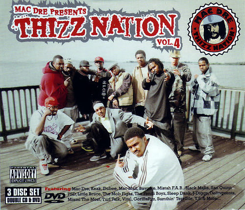 "MAC DRE PRESENTS ""THIZZ NATION VOL. 4"" (USED 2-CD+DVD)"