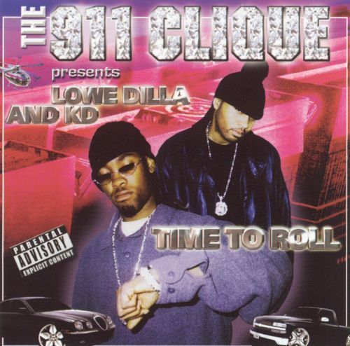 "THE 911 CLIQUE ""TIME 2 ROLL"" (USED CD)"