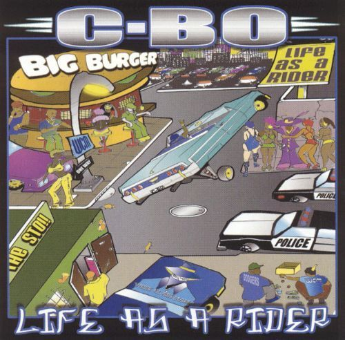 "C-BO ""LIFE AS A RIDER"" (USED CD)"