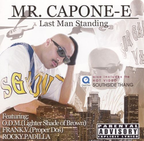 "MR. CAPONE-E ""LAST MAN STANDING"" (USED CD)"