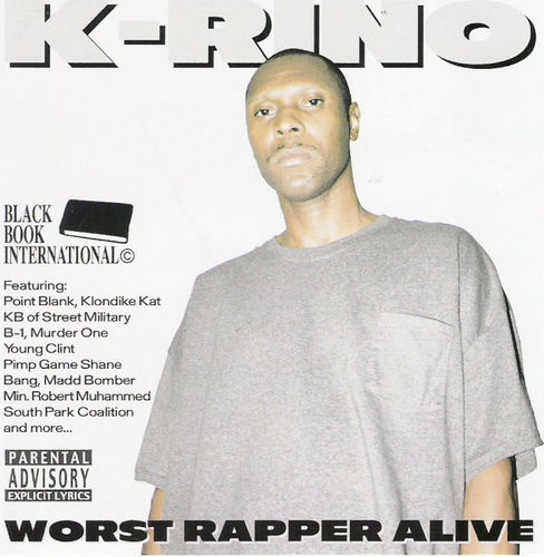 "K-RINO ""WORST RAPPER ALIVE"" (USED CD)"