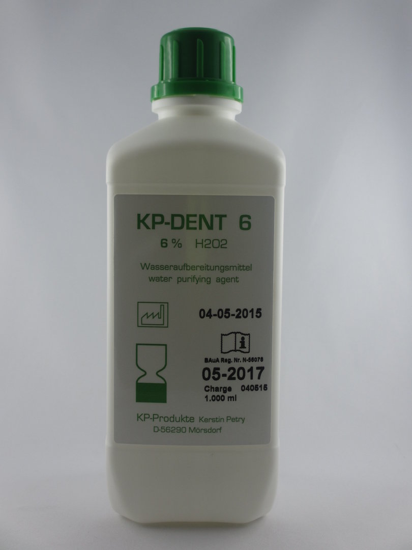KP-DENT 6   1.000 ml   (6er Pack)