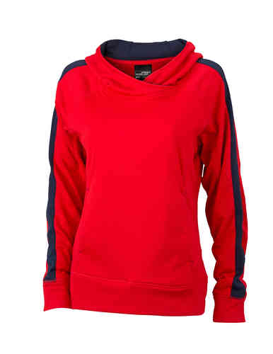 Ladies' Hooded Fleece Pulli