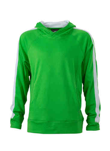 Mens' Hooded Fleece Pulli