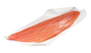 Lachs Filet Trim frisch ca 1,2Kg