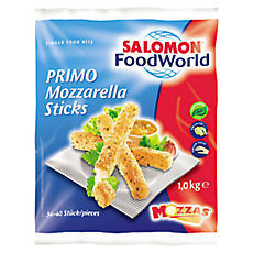 TK Mozzarella Sticks 1000g PRIMO SALOMON VEGETARISCH