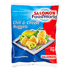 TK Chili & Cheese Nuggets SALOMON 1000g