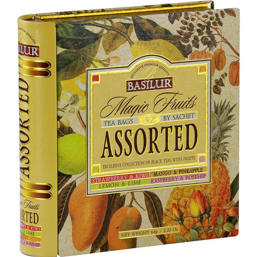 Tea Book Assorted - Schwarztee mix 64g