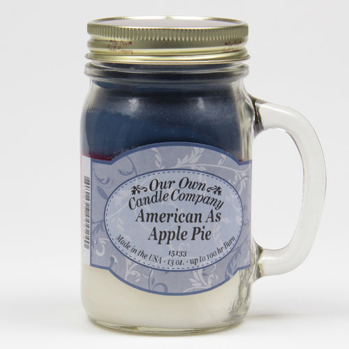 American as Apple Pie Large Mason Jar Triple
