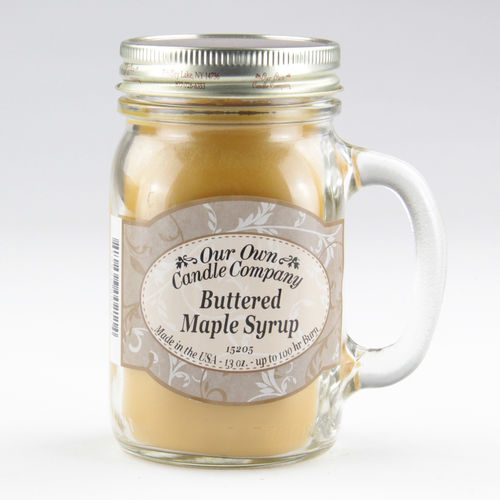 Buttered Maple Syrup Large Mason Jar