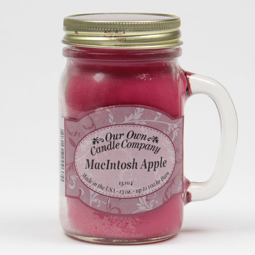 Macintosh Apple Large Mason Jar