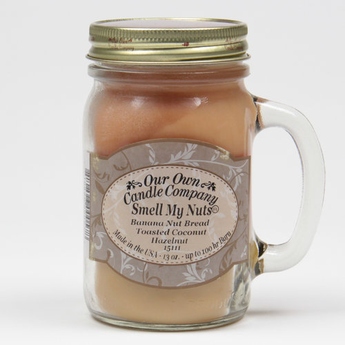 Smell My Nuts Large Mason Jar Triple