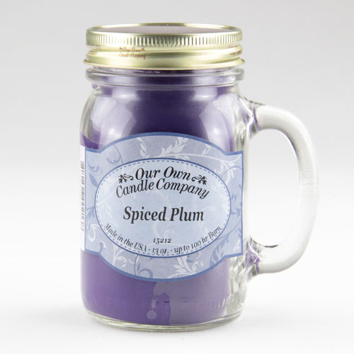 Spiced Plum Large Mason Jar