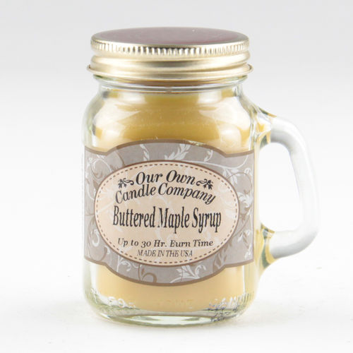 Buttered Maple Syrup Mini Mason