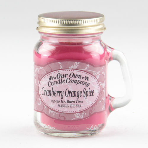 Cranberry Orange Spice Mini Mason
