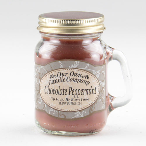 Chocolate Peppermint Mini Mason