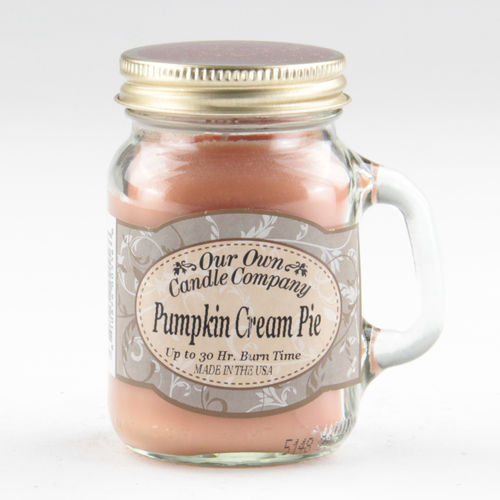 Pumpkin Cream Pie Mini Mason