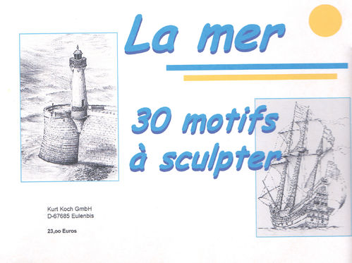 Collection of 30 drawings - all about sea