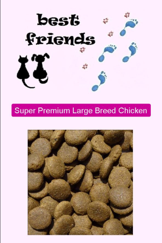 Super Premium Chicken & Rice Large Breed